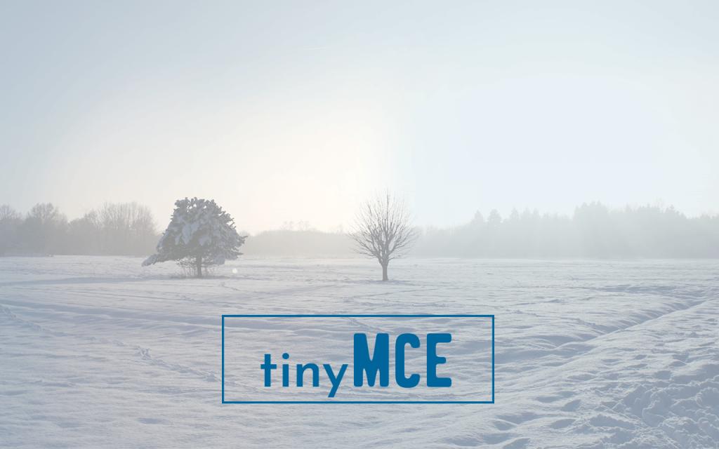Wysiwyg-Editor TinyMCE Konfiguration in Joomla