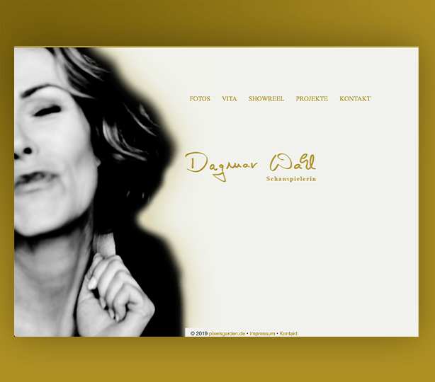 Dagmar Wahl - Schauspielerin